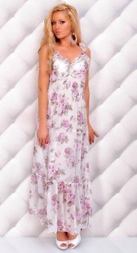 Dlouhé letní šaty (vel. S M) - Butik Radost 795bcd4cde