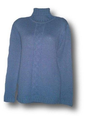 Dámský svetr - pletený rolák
