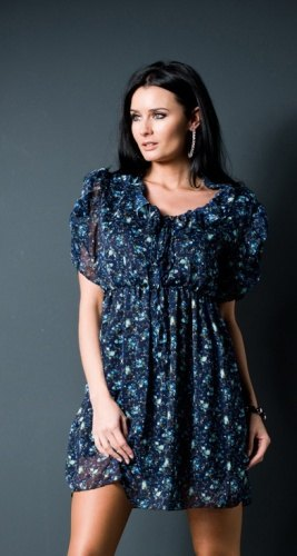 Květované šaty (vel. M L) - Butik Radost 1deac900fa