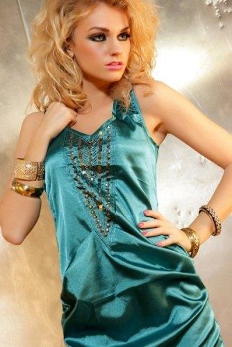 51870509f8b Saténové krátké společenské šaty (vel. M) - Butik Radost