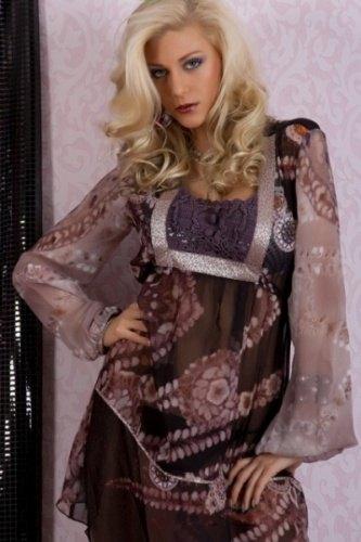 840fdd287e9b Luxusní šaty – tunika (vel. M) - Butik Radost