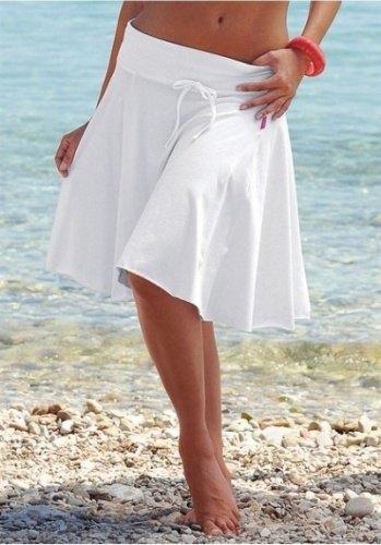2fd346e06387 Bílá letní sukně (vel. S M) - Butik Radost