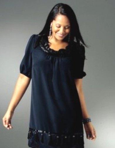0649463d268 Exkluzivní společenské šaty – tunika (vel. XXL) - Butik Radost