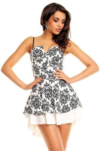 Bílé korzetové šaty (vel. S M) - Butik Radost 1dc595c9cd