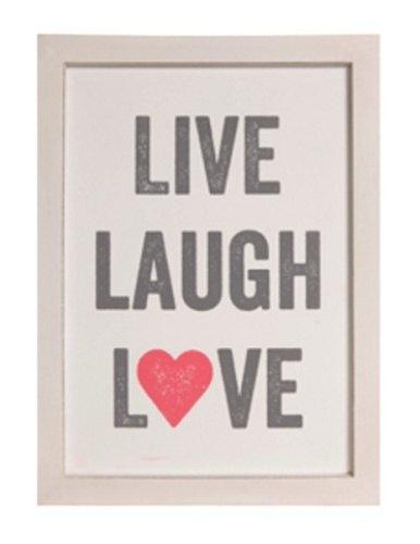 Obrázek Live Laugh Love
