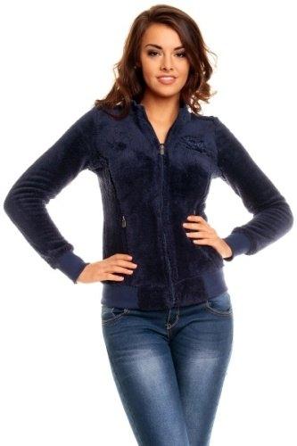 Dámská fleecová bunda na zip