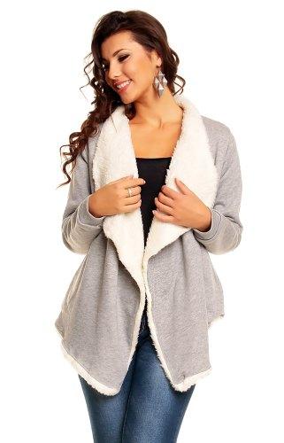 Dámský kabátek s kožíškem