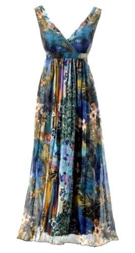 Dlouhé šaty barevné