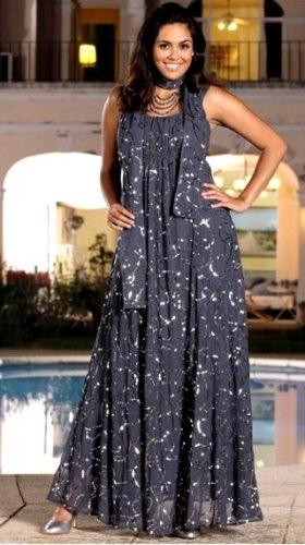 Dlouhé plesové šaty XXL - Butik Radost 3bd6cc1568c