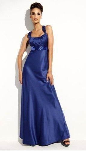 546b061e0a4 Dlouhé plesové šaty – hedvábný vzhled (vel. M) - Butik Radost