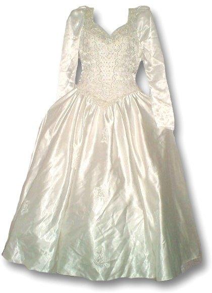 Svatební vintage šaty (vel. S)