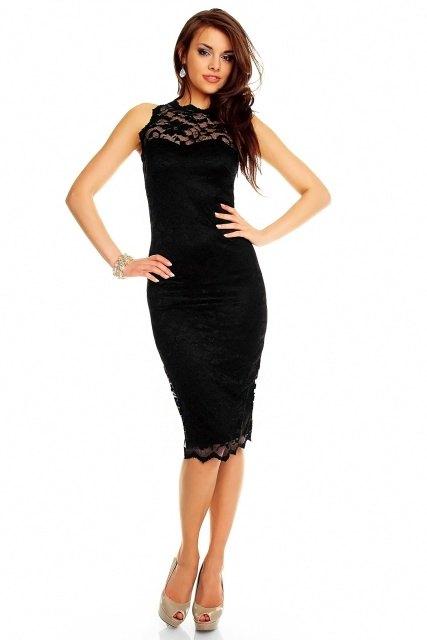 Luxusní krajkové šaty - Butik Radost 858a0c4f55