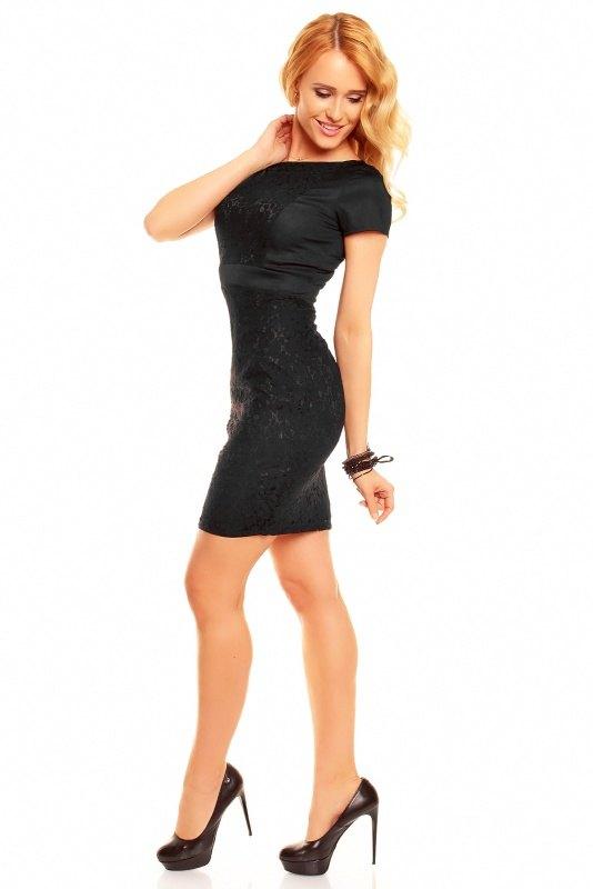 e3f128ef509 Společenské šaty s krátkým rukávem - Butik Radost