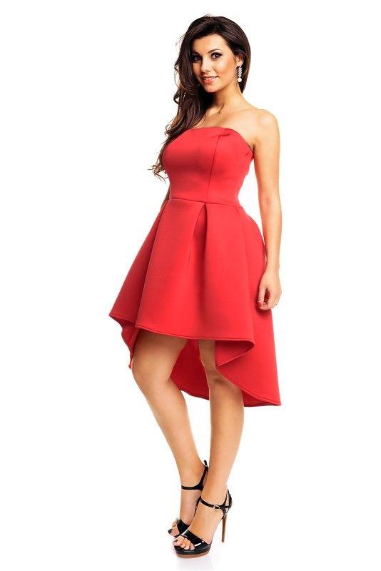 df973d22927e Korzetové šaty červené - Butik Radost