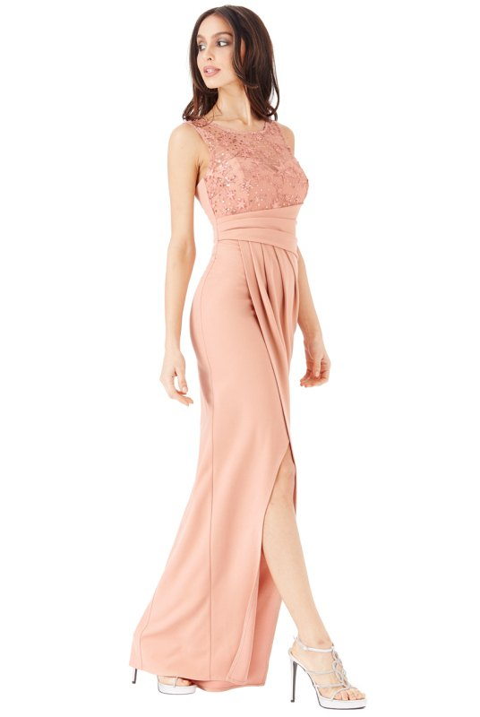 Hvězdně zdobené maxi šaty - Butik Radost 7604ec752e0