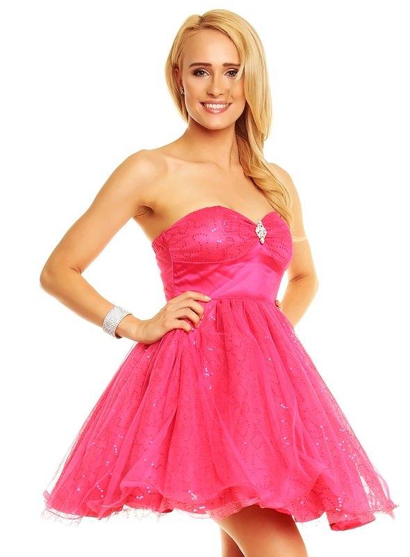 Korzetové růžové šaty pro pravou princeznu - Butik Radost a766dd828a
