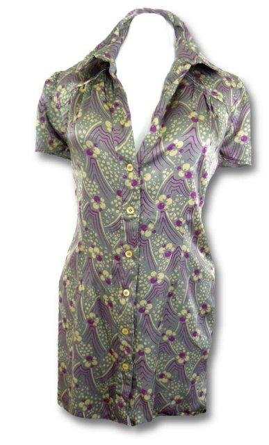 Košilové retro šaty (vel. M)