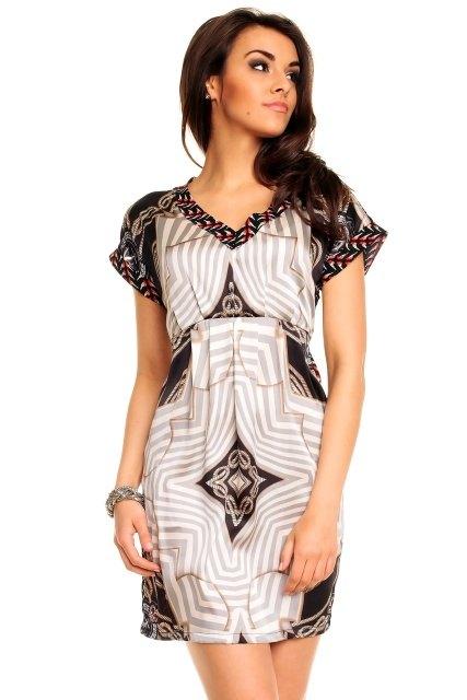 efc834d42fe Dámské šaty s krátkým rukávem - Butik Radost