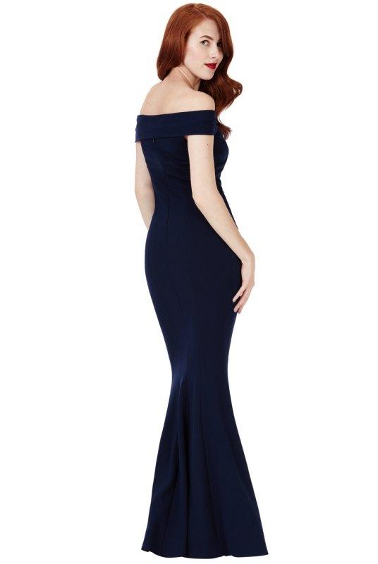 Noblesní dlouhé šaty na ples - Butik Radost 5c737b14075