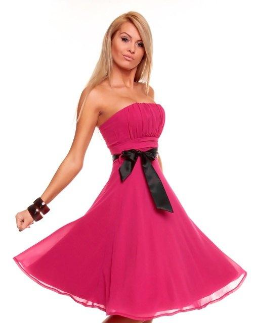a15b6826e67a Šifónové společenské šaty - Butik Radost