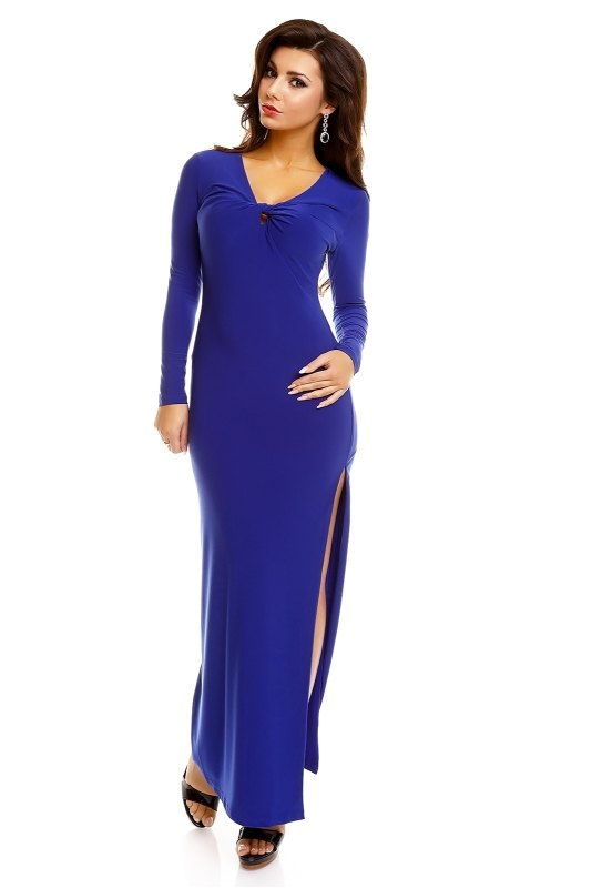 82cd6205d60 Společenské šaty s dlouhým rukávem - Butik Radost