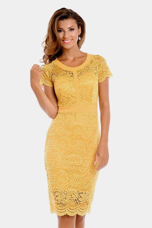 Krajkové společenské šaty - Butik Radost e87c430bcbe