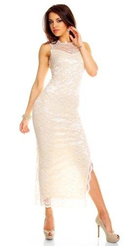 59ec48bbd Dlouhé krajkové šaty - Butik Radost