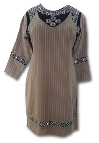 Retro šaty s pruhy