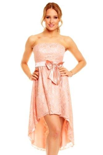 Pudrově růžové korzetové šaty