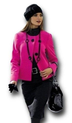 Módní krátký kabát