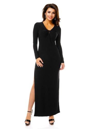Šaty s dlouhým rukávem do společnosti 71b5343e15