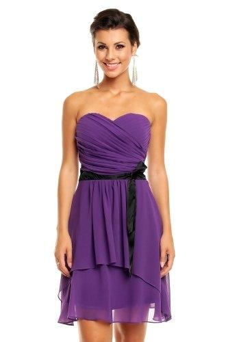 71da11ad73be Společenské šaty fialové - Butik Radost